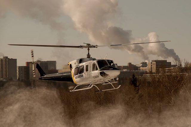 edmontonlife yegphotographer f4f skycrane commercialphotography helicopter f4followback marcnealphotographer