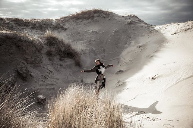 photolove skyandsand northsea passion designer fashionstyle motionpicture coast magazine sea windinmyhair design cross hairandmakeup model