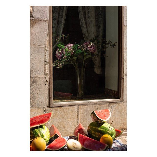 stilllifephotography streetphotography somewheremagazine yetmagazine stilllife documentaryphotography mallorca fruits oftheafternoon melon fisheyelemag soller subjectivelyobjective flowers broadmagazine