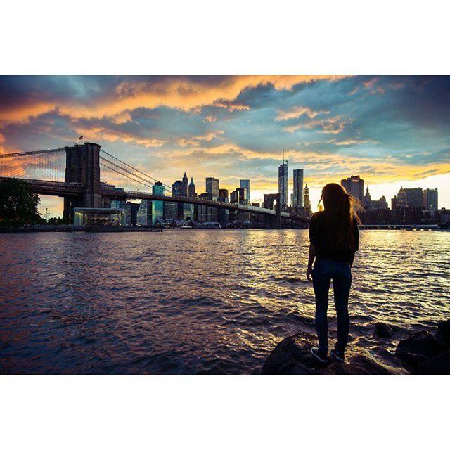 brooklyn cityscape nikon nyc sunset streetphotography newyork brooklynbridge vsco