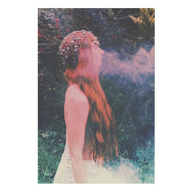 smoketricks redhead editorialphotography filters woodland forest
