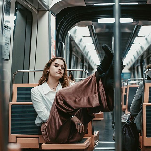 modelmanagement paris metro christiereine photoshoot