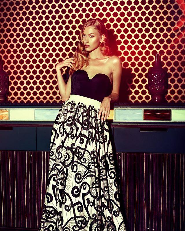 designer editorial glamour fashion model