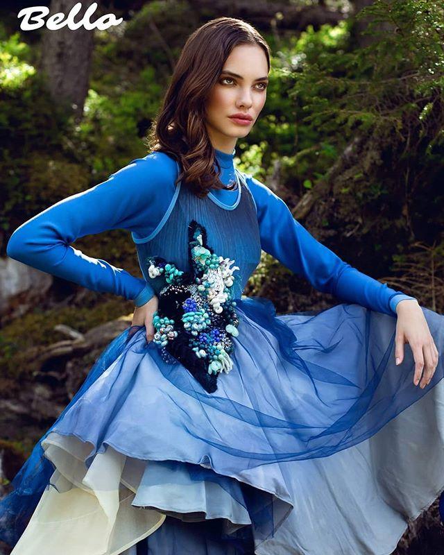 model fashionshoot publication magazine dress