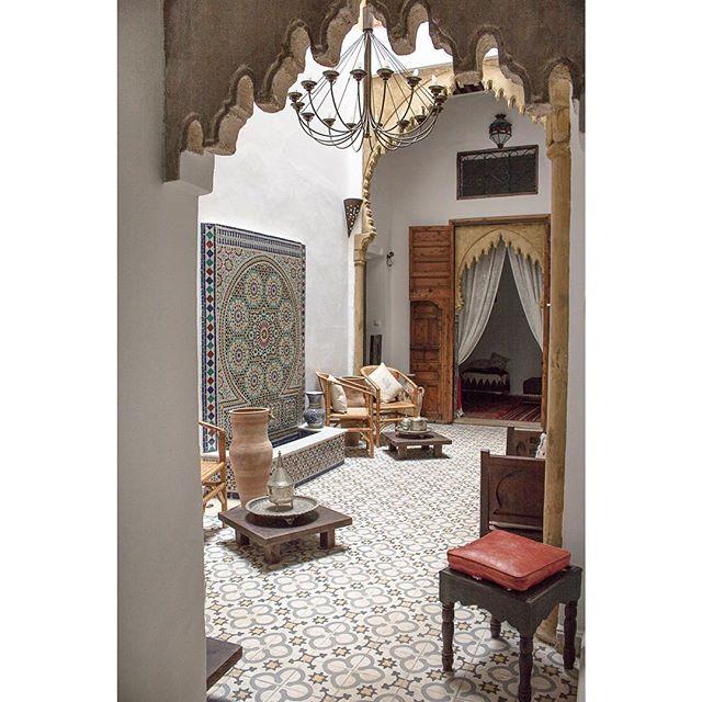 moroccaninterior interiorinspo visitmorocco mytinyatlas passionpassport riad suitcasetravels rabat morocco