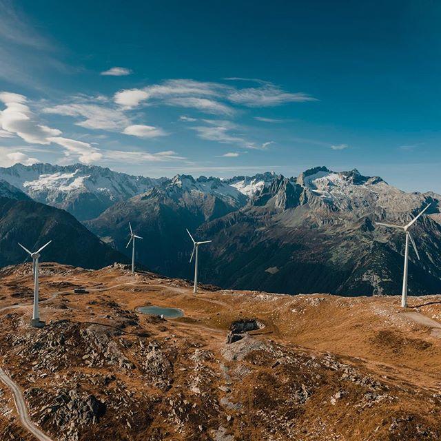windpark windparkgütsch myswitzerland inlovewithswitzerland windenergy inspire2 dronephotography
