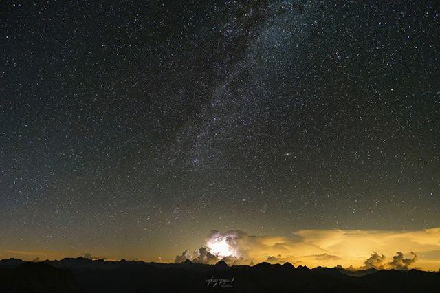 landscapephotography mymercantour stdalmasleselvage milkyway unairdefrance night landscape tinee mercantour bonette mercantournationalpark stetiennedetinee auron