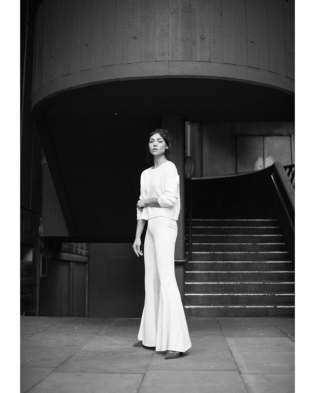 london style fashion urban portrait nikon concrete model blackandwhite 50mm
