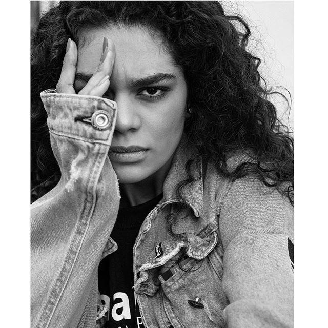 urban nikon denim london closeup 50mm style portrait blackandwhite model fashion