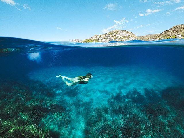 snorkeling gdome blue gopro summer mediterranean snorkel costabrava barcelona polarpro underwaterphotography