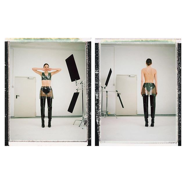 editorial berlin mode grooming stylig beauty andreasknaub polaroid