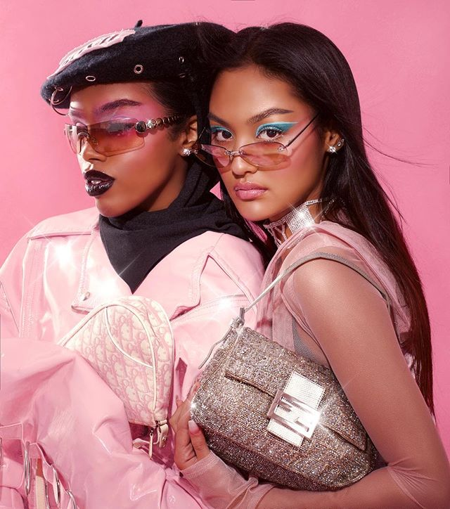 pink aaltouniversity retouch fashion photoshoot dior