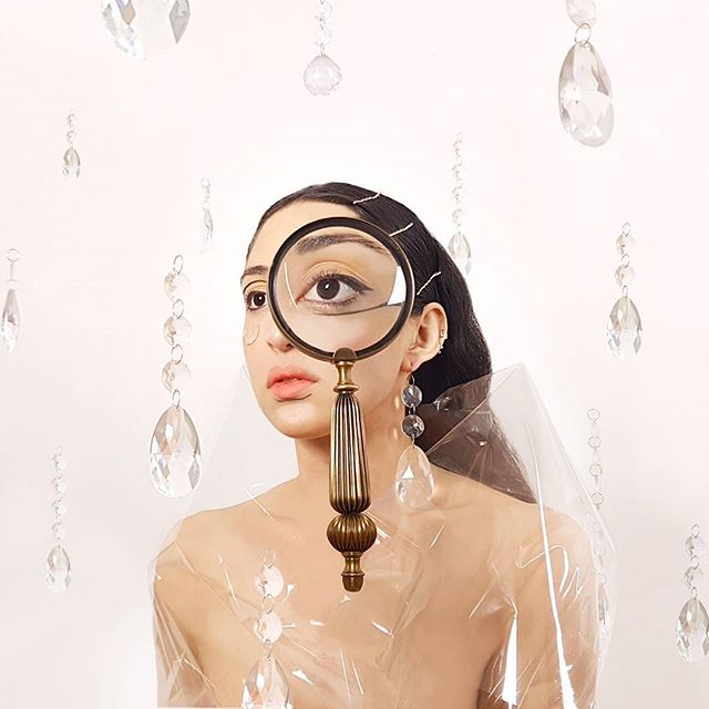 picoftheday instapic portrait studio minimal loupe floating lens visual magnifyingglass storytelling crystals golden photography surreal experimental thediscover