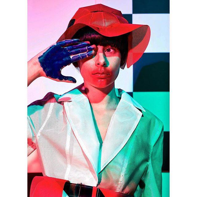 sustainablefashion photooftheday photography fashion portraitsnl colorportrait colorsplash digitaldesign futurefashion portraitmood idmagazine