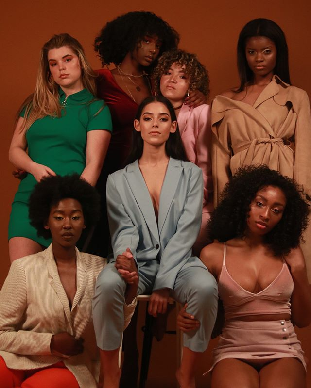 studioshoot colors curly girlpower