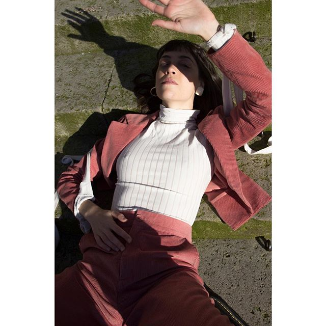 model editorial pfw pariscollegeofart punk fashionweek pinkpunk paris pca pink
