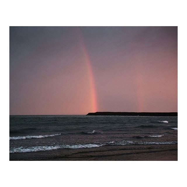 valdimar iceland rain wind ocean documentary rainbow travel photography