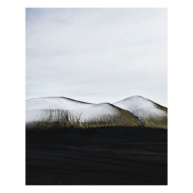 mountain moss ice photobook iceland volcano snow