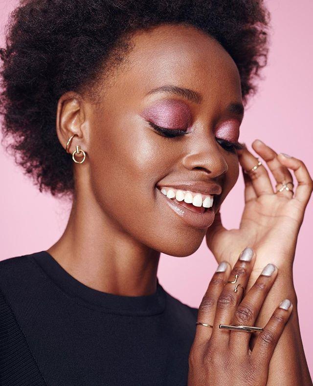 beautyretouch postproduction beautyshot beauty rose sunshine pink makeuponfleek hands retouch smile happy makeup styling