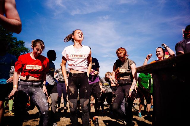 female blickpuls blogger_de fitness contentcreation rawbite event work brands lifestyle toughmudder