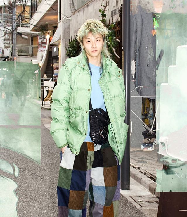 fashionista harajukustyle tokyo japanesefashion greengoblin nowness kawaii dyedhair cuteboy ignant harajukufashion littlerascal streetstyle fashionweek tokyolife afwt greenhair lttlrzcl genderfluid