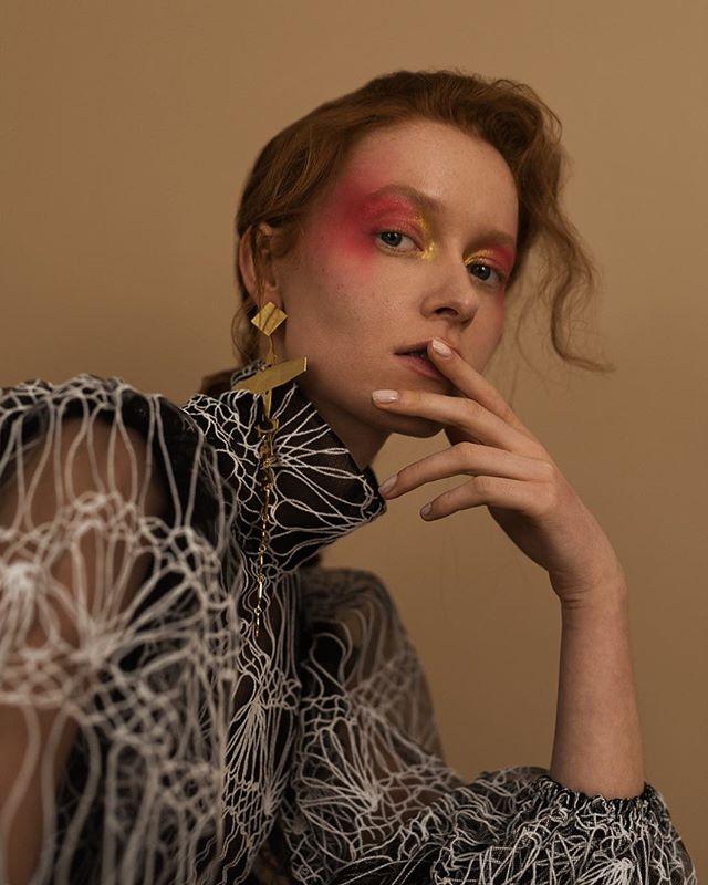 makeup fashionphotography lovemyjob fashion magazine editorial redhead portrait shooting photographer beauty