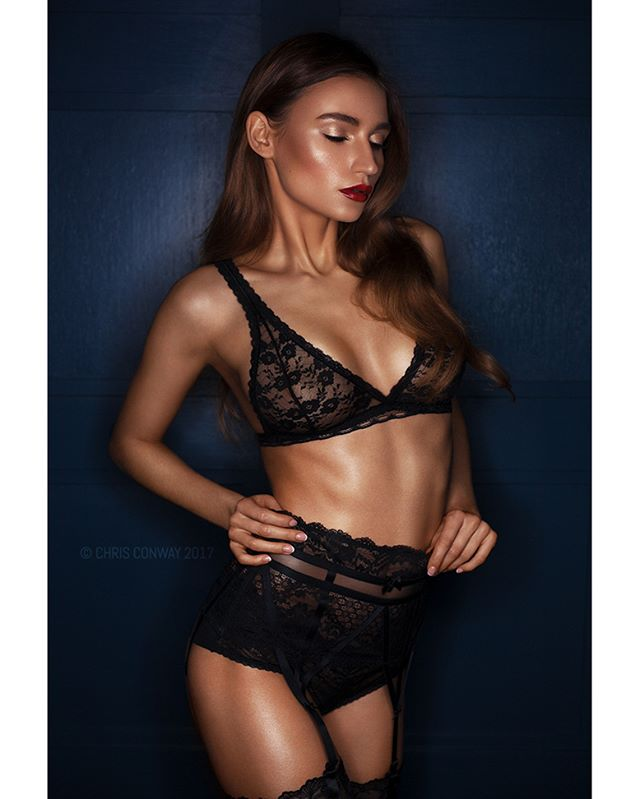 ringflash sheer lingerie photoshop style girl photooftheday picoftheday instaglam photographer luxury canon model femalemodel mua photoshoot bra postmypicsticks tan suspenderbelt lips retouching studio makeup brows love underwear photography suspenders black