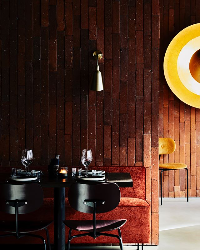 interior interiordesign restaurantinterior madklubben details yellow